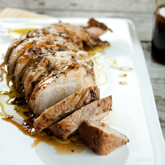 Savory Marinated Pork Recipe