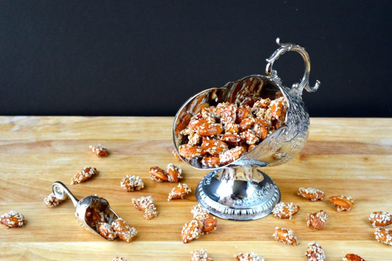 Sesame Almonds Recipe