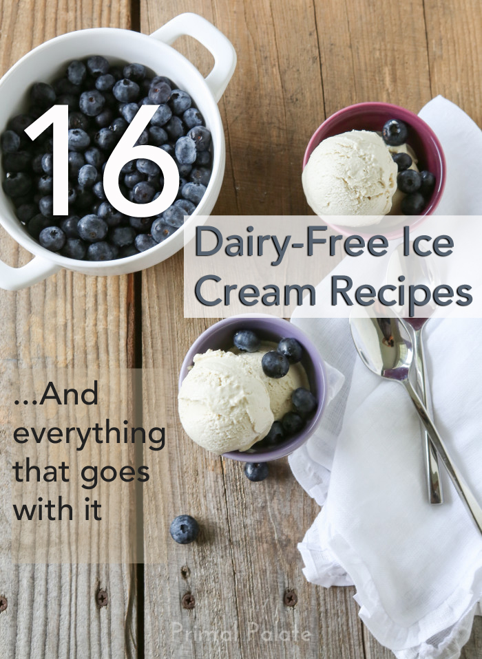 16 dairy free ice cream recipes