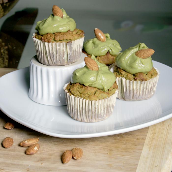 Vanilla Avocado-Almond Muffins Recipe