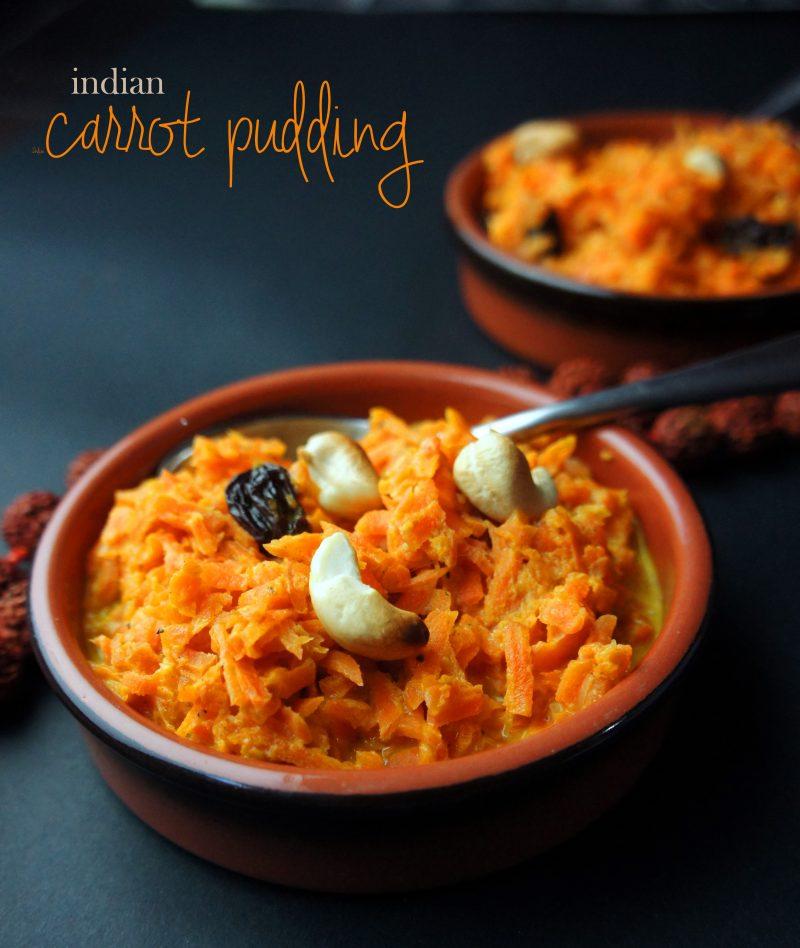 Indian Carrot Pudding – Gajar Ka Hawla Recipe
