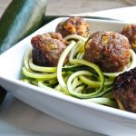 Sweet Apple Pork Meatballs