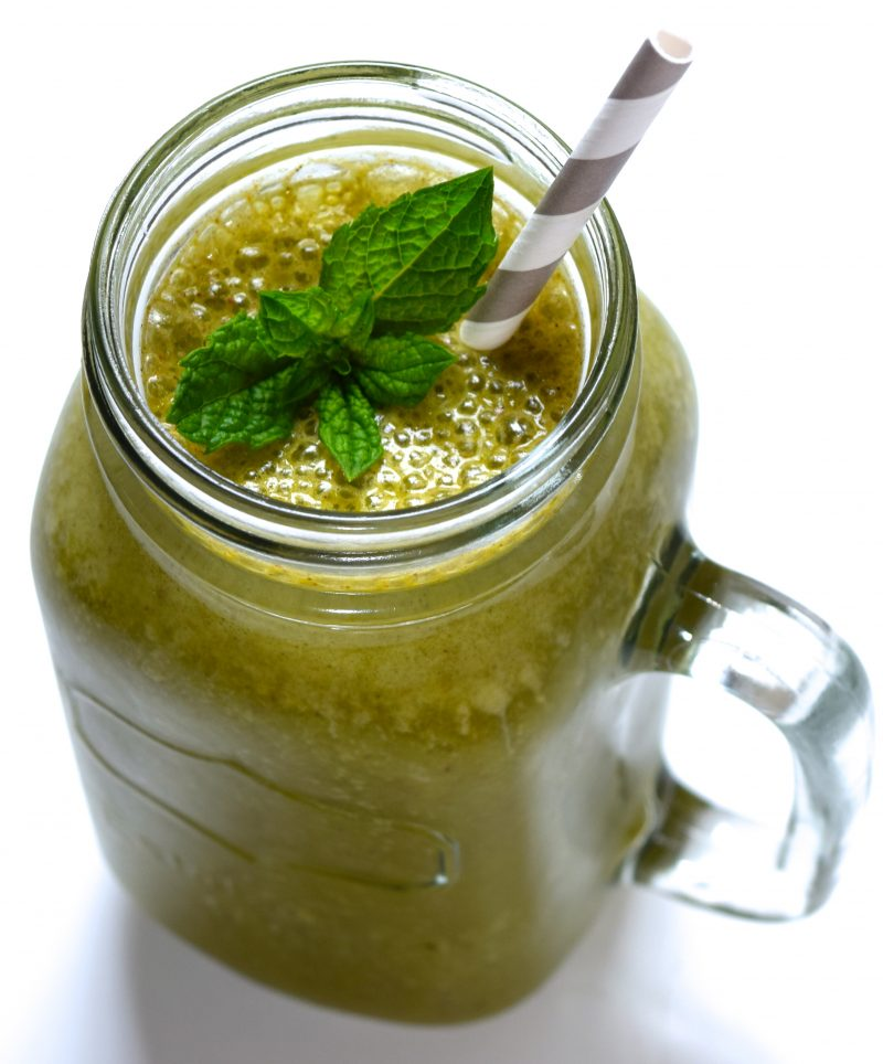 Mint Chocolate Green Smoothie Recipe