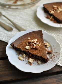 Flourless Chocolate Hazelnut Cake Recipe