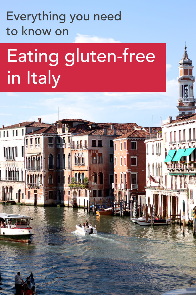 Dining gluten free in italy