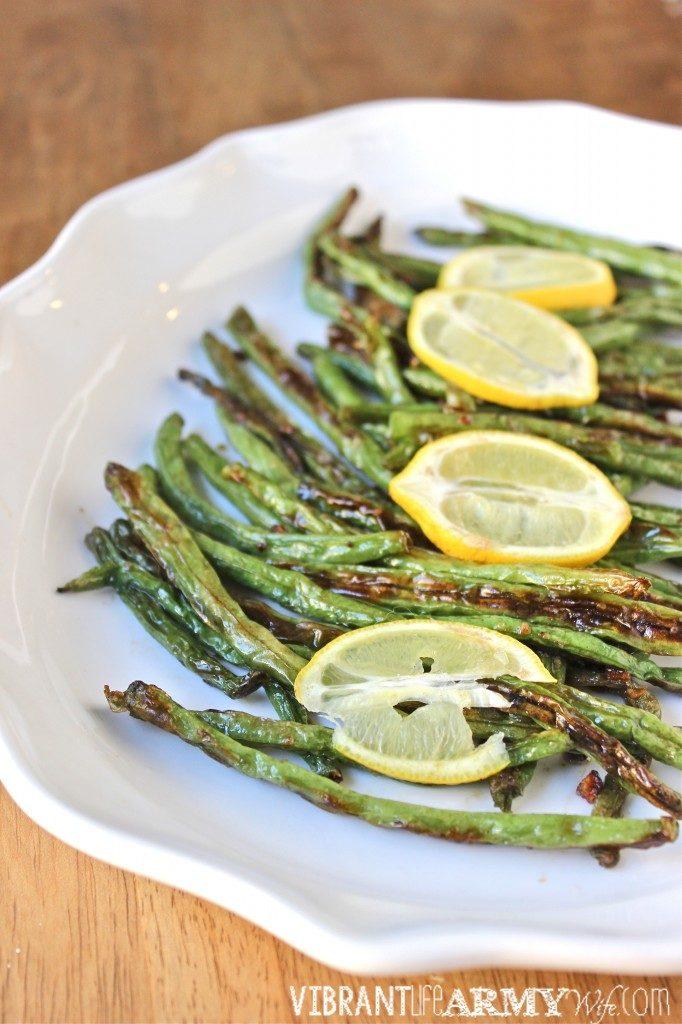 Lemon Garlic Green Beans Recipe