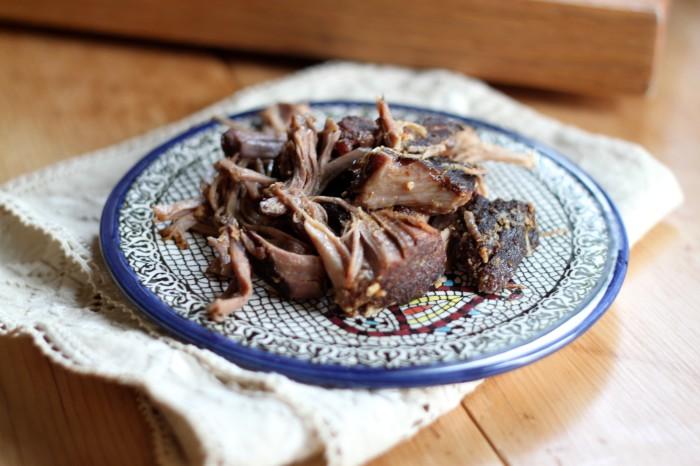 Zen belly shredded pork
