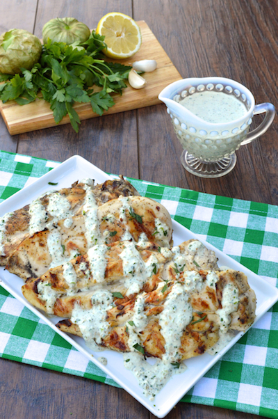 Tomatillo Ranch Chicken Recipe