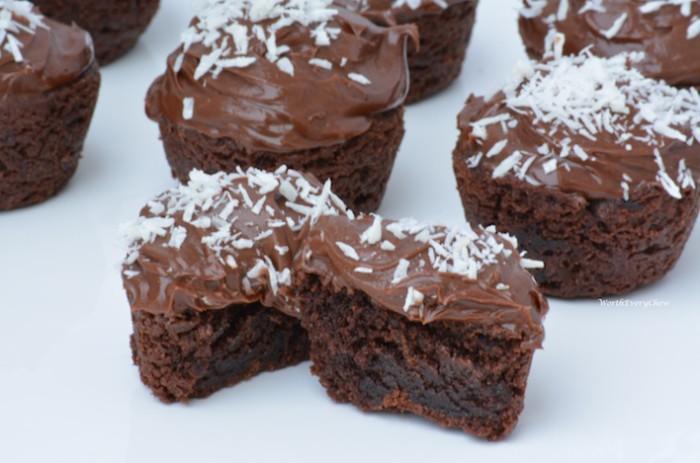 Kale Brownie Bites