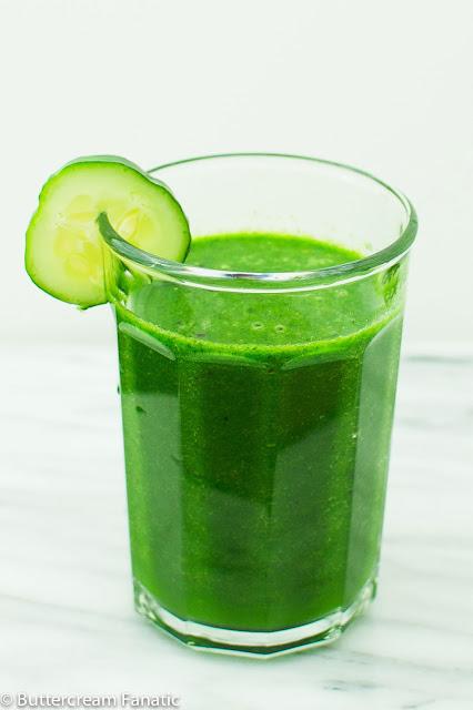 Clean Green Detox Smoothie Recipe