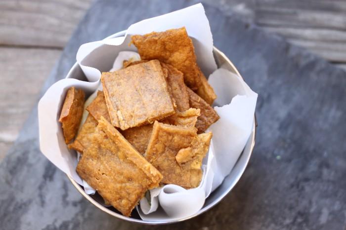 Paleo Plantain crackers