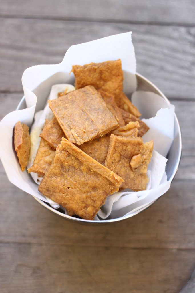 Plantain Crackers from the Paleo Approach Cookbook Recipe