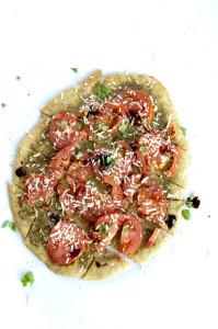 Tomato Pesto Flatbread