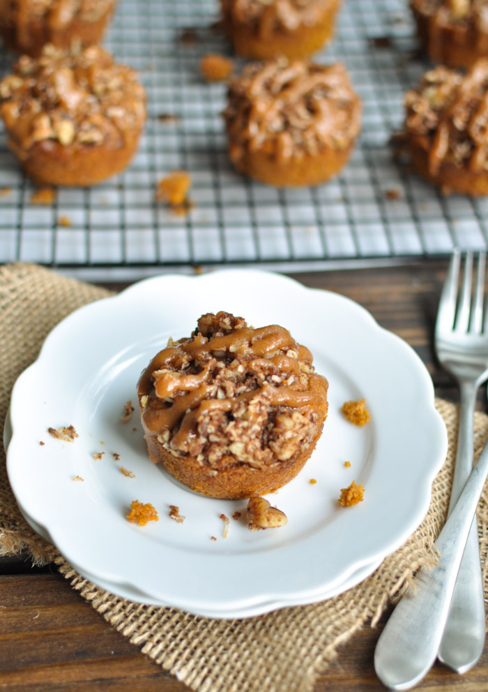 Pumpkin Muffin with Nut Streusel Topping - Primal Palate | Paleo ...
