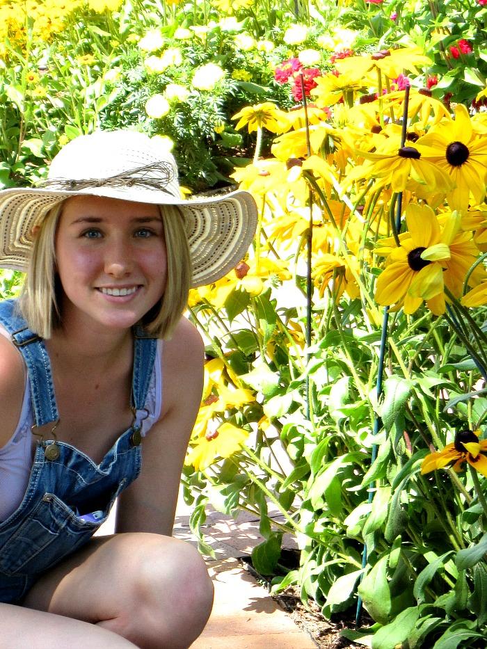 Tess at Botanic Gardens