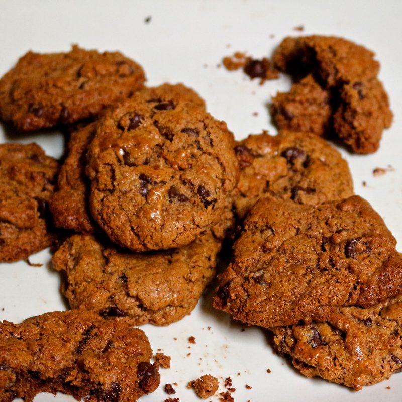 The best gooey paleo chocolate chip cookies Recipe
