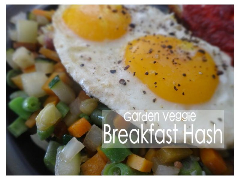 Garden Veggie Breakfast Hash Recipe