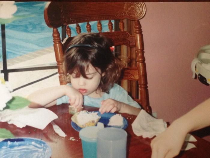 Macy as a kid