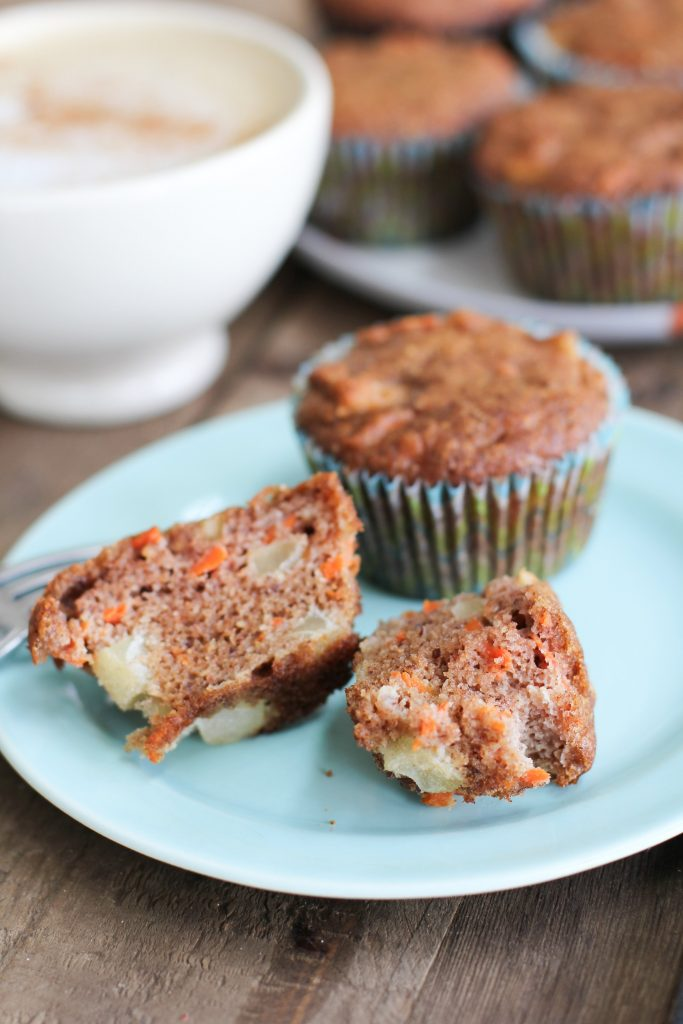 Apple Spice and Carrot Muffins Recipe