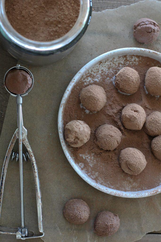 Chocolate Coconut Creme Truffles Recipe