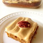 paleo Butter pecan pumpkin bars