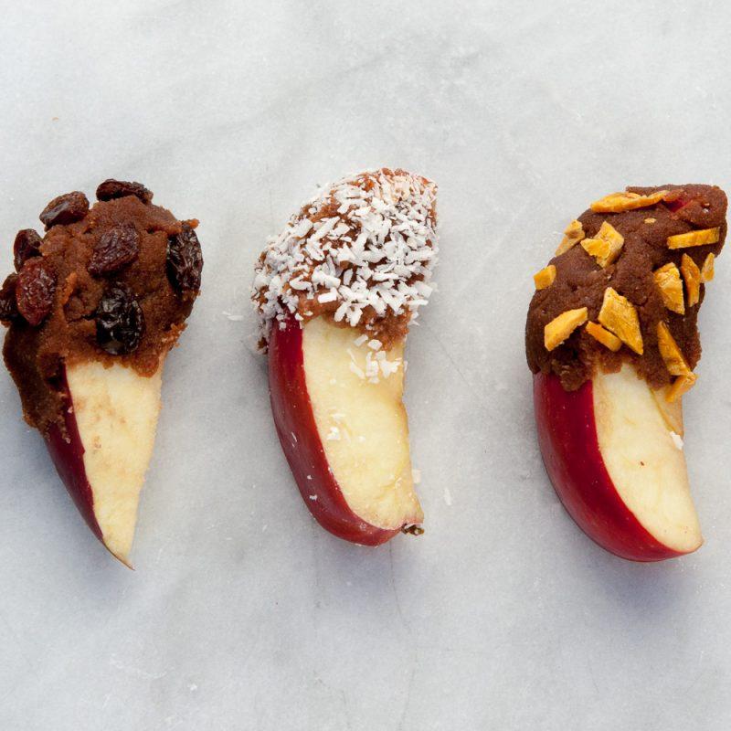 Carob Covered Apples Recipe