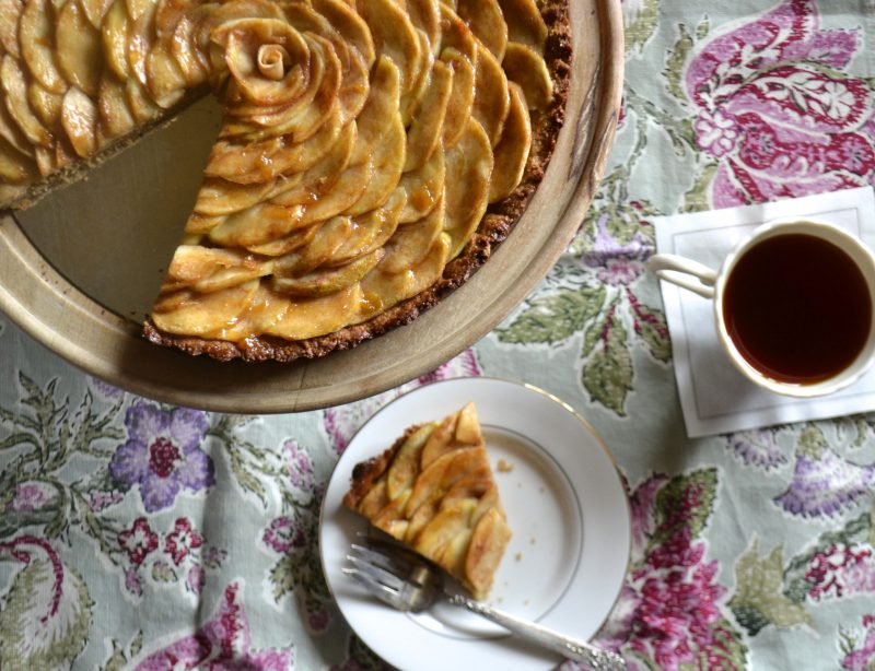 French Apple Tarte (grain free) Recipe