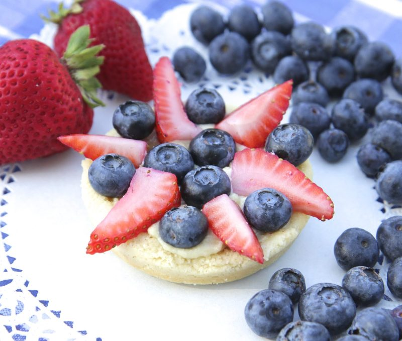 Fruity Fireworks Tartlets Recipe