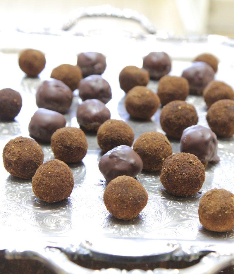 Pumpkin Spice Latte Power Balls Recipe