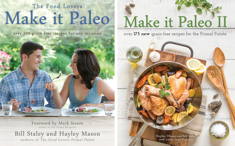 Make It Paleo 1 and 2 covers