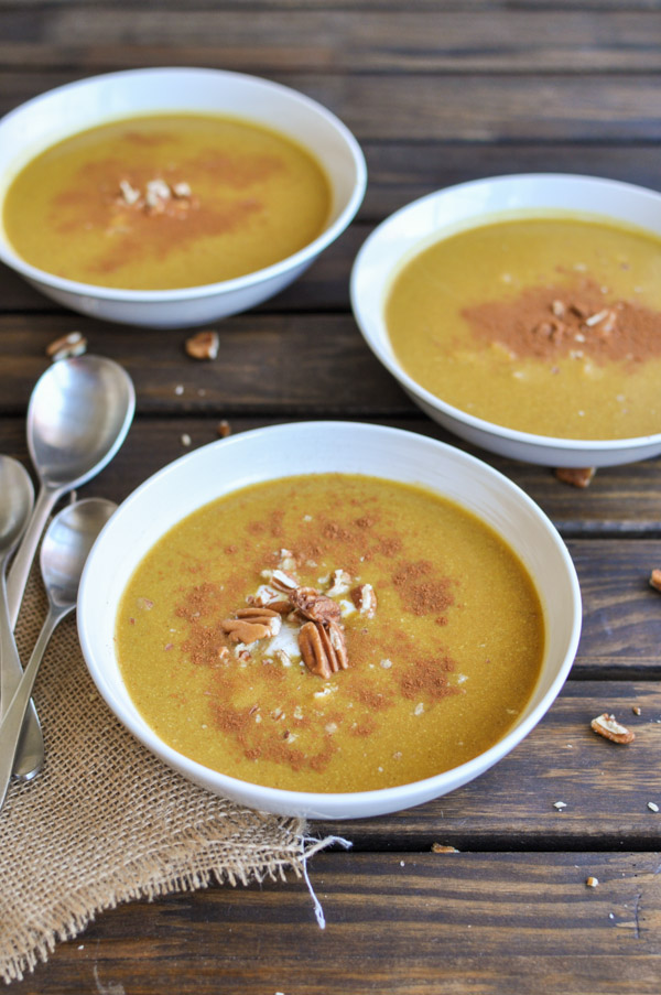 Paleo Roasted Butternut Squash Soup