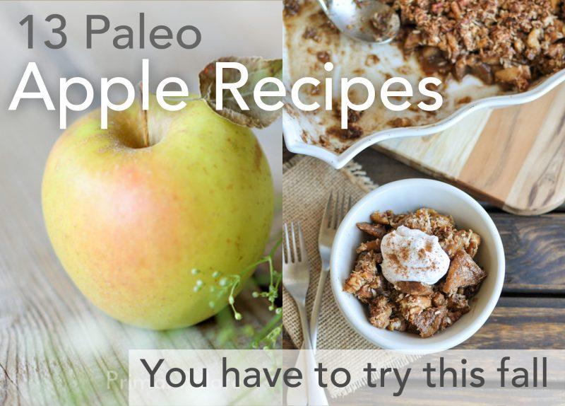 13 paleo apple recipes