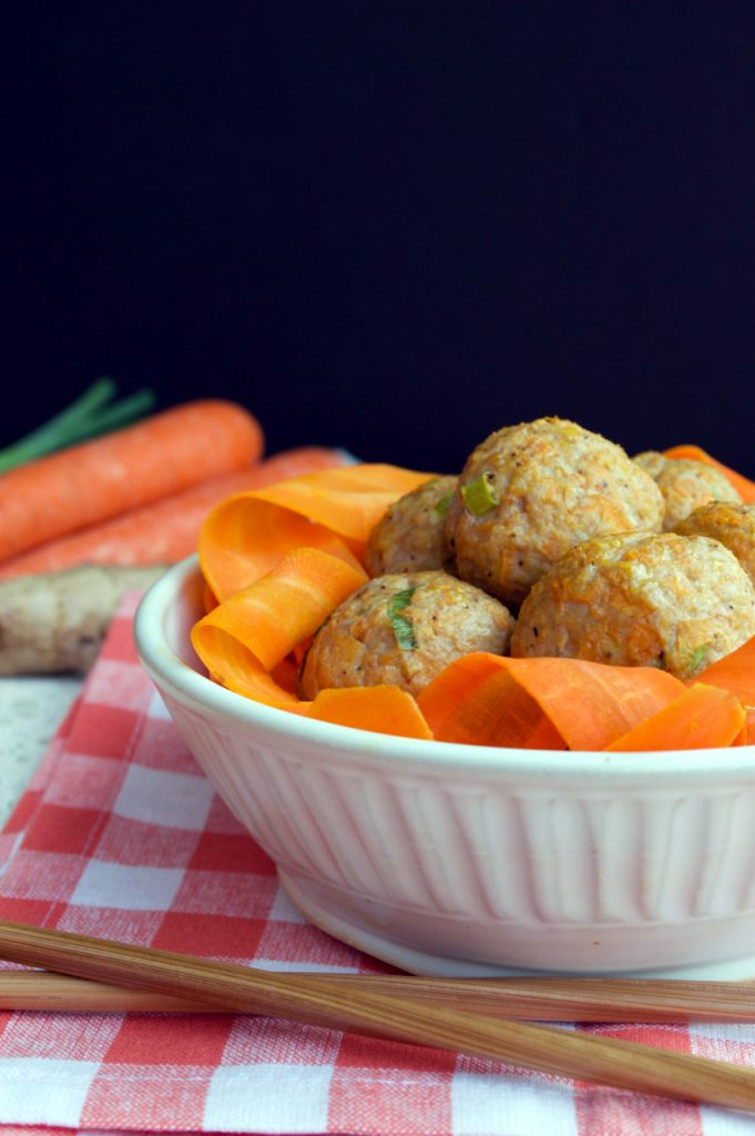 Carrot Ginger Meatballs Recipe