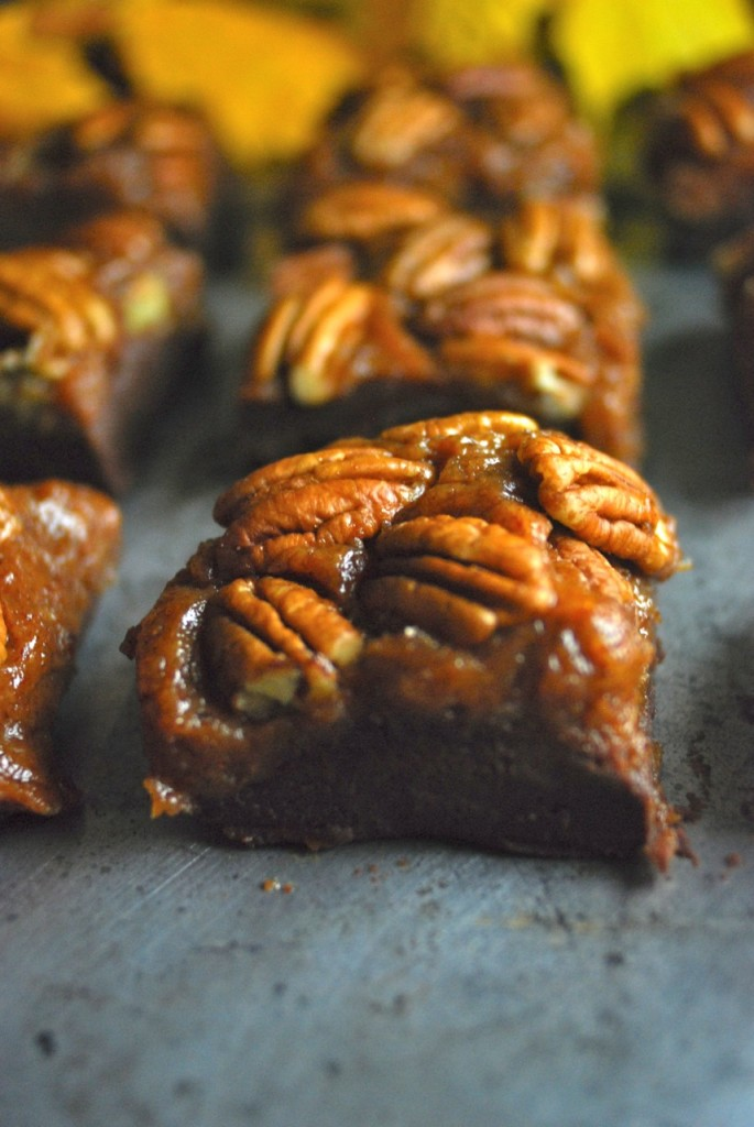 chocolate pumpkin pecan fudge