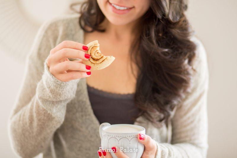 paleo cinnamon swirl cookies - primal palate -7