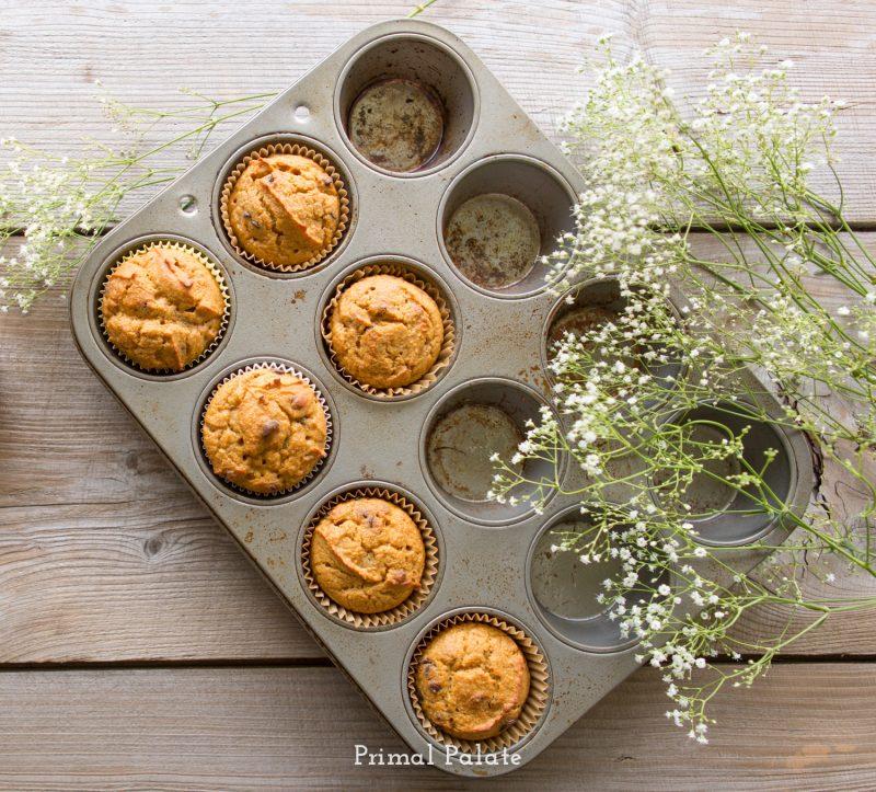 paleo pumpkin muffins-2