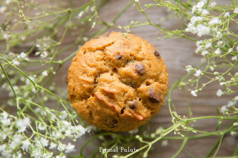 paleo pumpkin muffins-4
