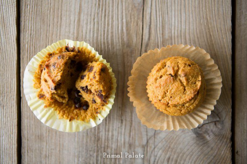 paleo pumpkin muffins-6