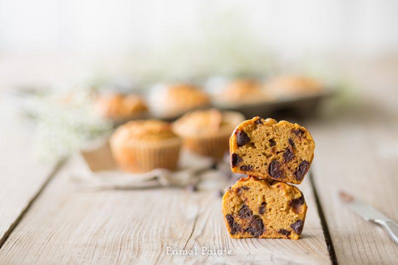 paleo pumpkin muffins-8