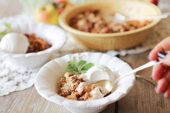 primal palate apple crisp-7