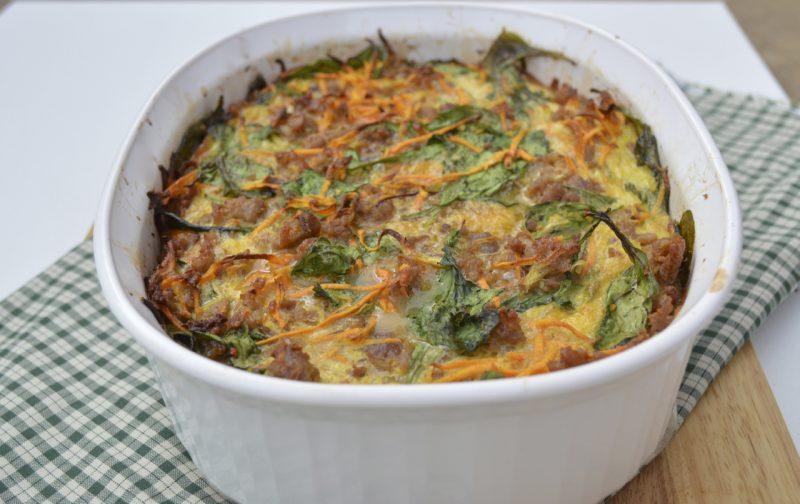 Sausage and Sweet Potato Casserole Recipe