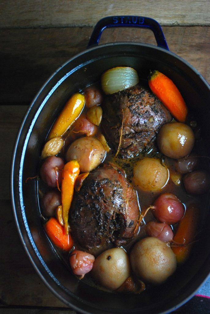 Rustic Venison Pot Roast Recipe
