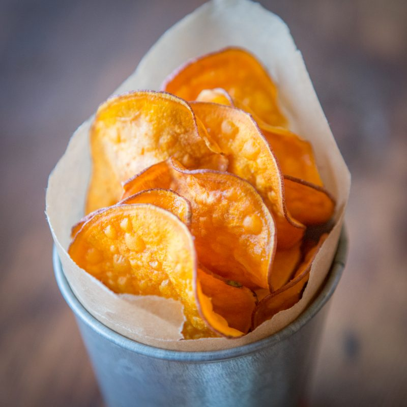 Perfect Sweet Potato Chip Recipe
