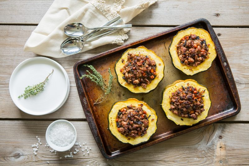 Paleo Stuffed Acorn Squash - Make it Paleo 2