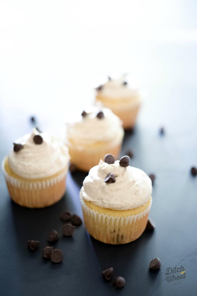 Paleo Chocolate CHip Cupcakes