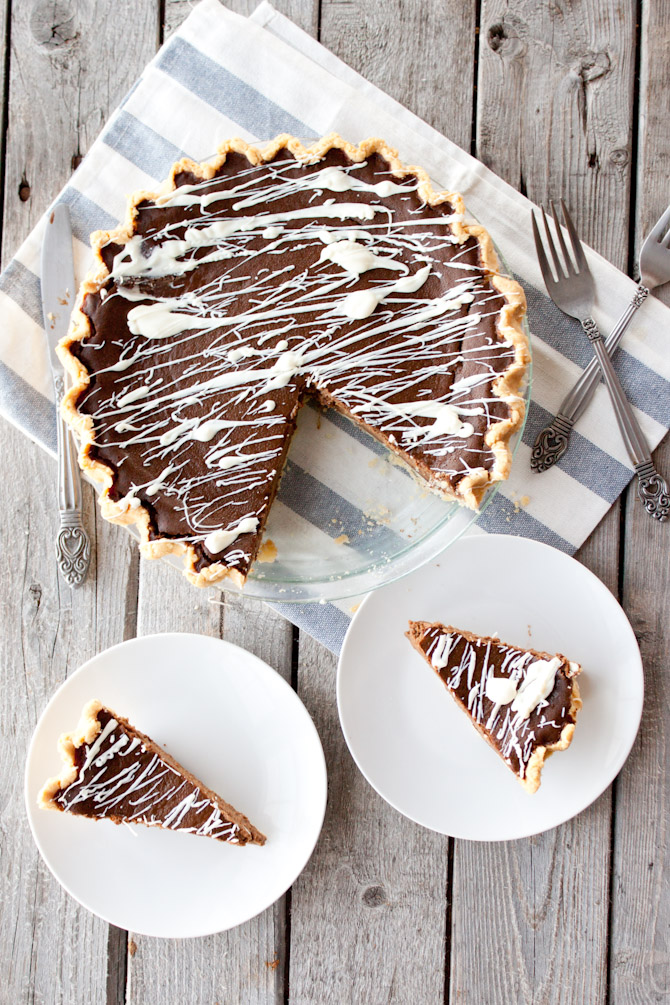Paleo Double Chocolate Pumpkin Pie Recipe