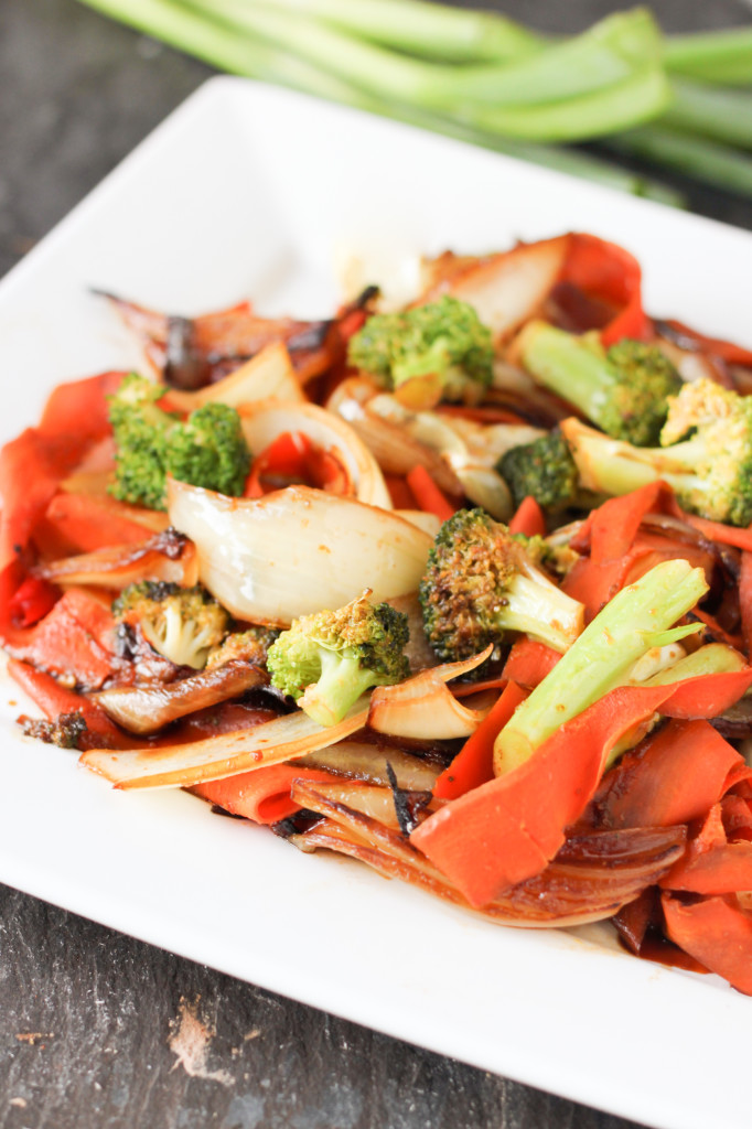 Drunken Carrot Noodles