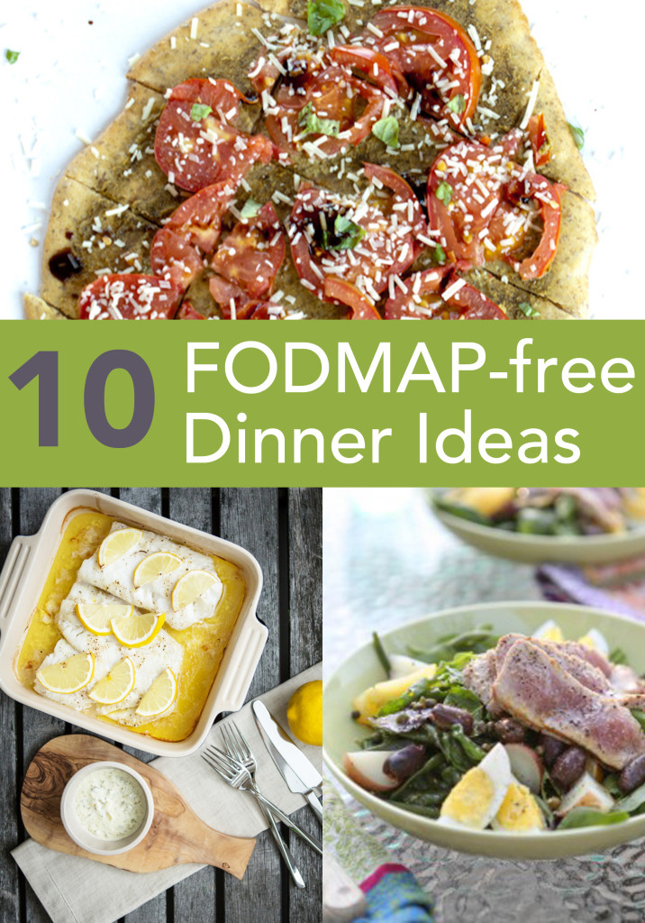 FODMAP Free dinner ideas