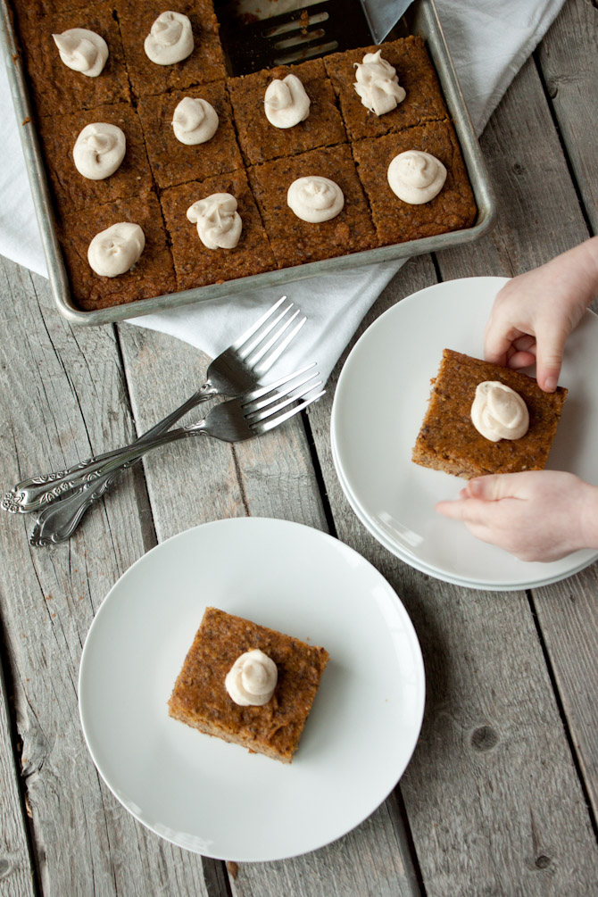Grain Free Pumpkin Bars