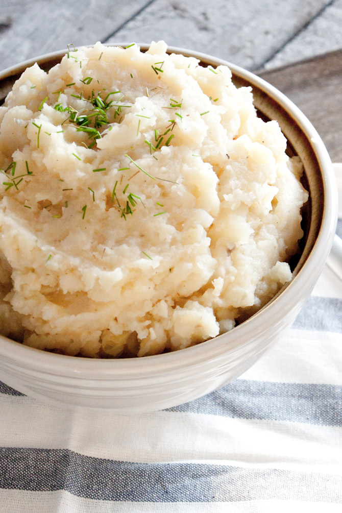 Mashed Parsnips and Turnips